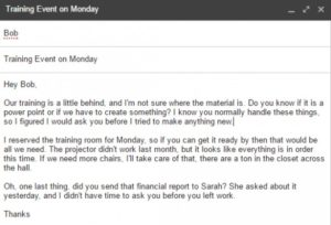 Writing better emails 2